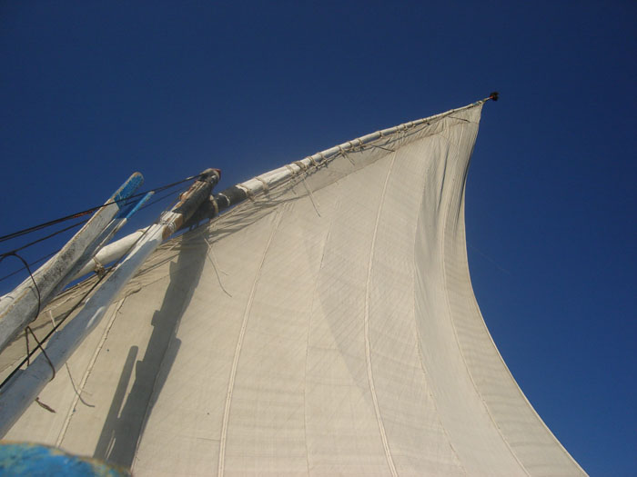 Felucca trip in the Nile