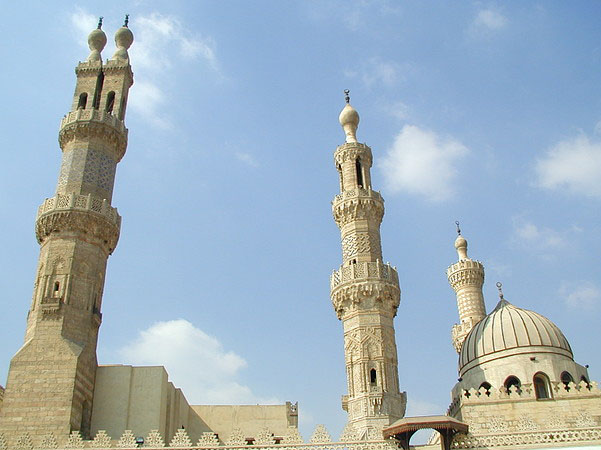 Azhar Mosque and Islamic Sites