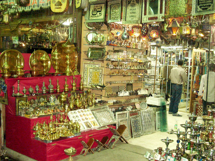 Famous Bazaars & Suburbs at the ancient Cairo