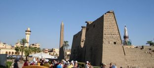 Temple of Luxor Entrance