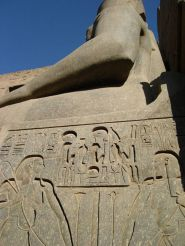 Statute at Luxor Temple